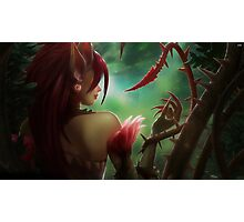 Zyra / League Of Legends Photographic Print