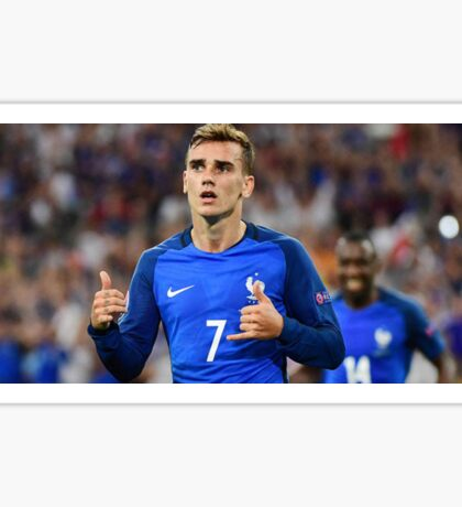 Antoine Griezmann Goal Celebration France Soccer Team Sticker