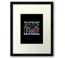 The Society League of Justice Framed Print
