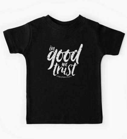 In Good We Trust Kids Tee