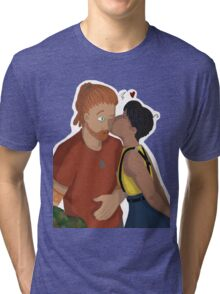 Surprise Kisses Tri-blend T-Shirt