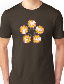 Rock Paper Scissors Lizard Spock - Yellow Variant Unisex T-Shirt