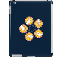 Rock Paper Scissors Lizard Spock - Yellow Variant iPad Case/Skin