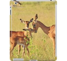 Impala - Motherly Love in Nature iPad Case/Skin