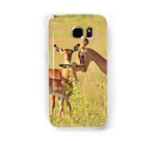 Impala - Motherly Love in Nature Samsung Galaxy Case/Skin