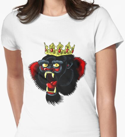notorious yellow crown  Womens Fitted T-Shirt