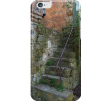 Old staircase & courtyard, Montsalvat iPhone Case/Skin