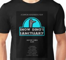 Snow Dino's Sanctuary Poster Unisex T-Shirt