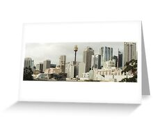Sydney Panorama Greeting Card