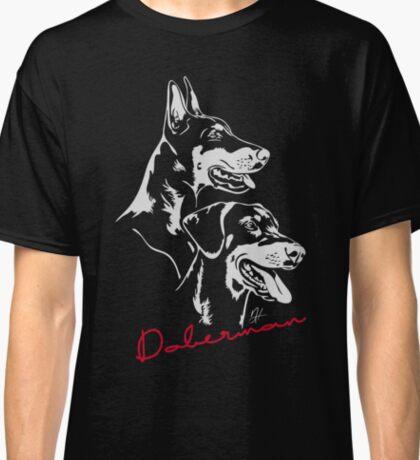 Doberman - Portrait Classic T-Shirt