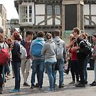 Canterbury - Tourists Queuing  by rsangsterkelly