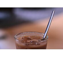 Iced Latte 2 Photographic Print