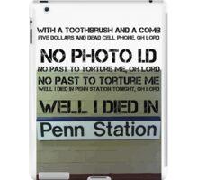 Penn Station iPad Case/Skin