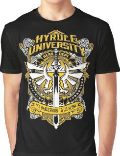 Zelda T-Shirt (Hyrule University) Graphic T-Shirt