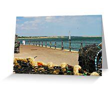 Sea View. Greeting Card