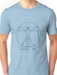 I love anthro art Unisex T-Shirt