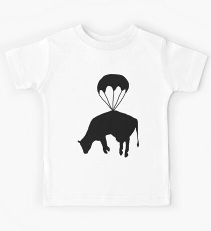 Airborne cow Kids Tee