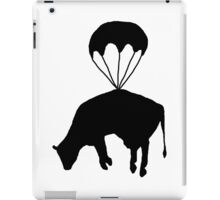 Airborne cow iPad Case/Skin