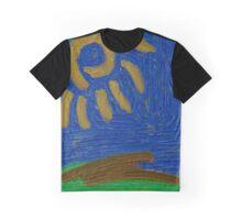 Gold Sun Graphic T-Shirt