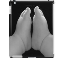 Small feet ready to conquer the world iPad Case/Skin