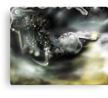 Dark Matter [Digital Fantasy Figure Illustration]  Canvas Print