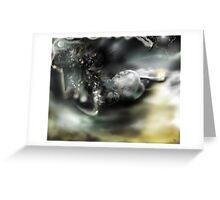 Dark Matter [Digital Fantasy Figure Illustration]  Greeting Card