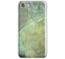 Capitol Reef Canyonlands National Parks Utah Satellite Image iPhone Case/Skin