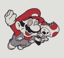Mario Flying Mushroom by TheJokerSolo