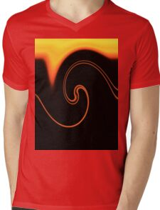 Flame and Fire Vector - Colors of the World Mens V-Neck T-Shirt