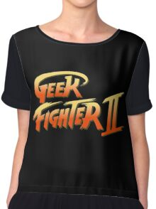 Street Fighter II - Geek Fighter II Chiffon Top