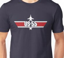 Custom Top Gun - US-55 Unisex T-Shirt