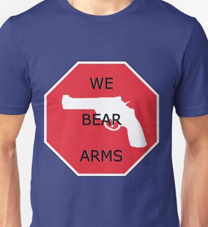 USA WE BEAR ARMS 2nd amendment Unisex T-Shirt
