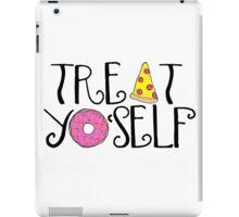 treat yoself food iPad Case/Skin