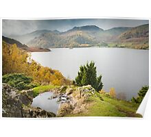 Ullswater from Long Crag 2 Poster