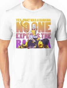 No one expects the banana - Soraka/Warwick Unisex T-Shirt