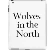 Wolves in the North iPad Case/Skin