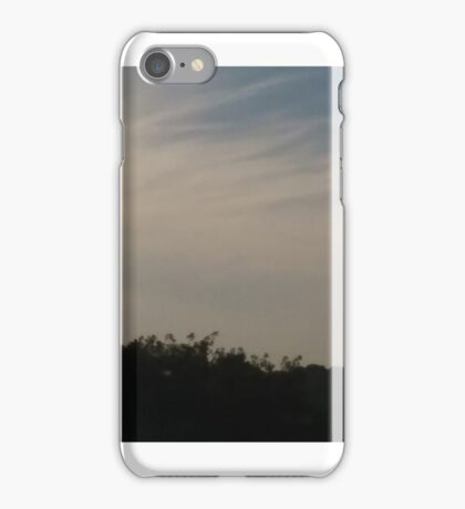 daylight / trees / sky / clouds / building  iPhone Case/Skin