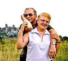 My great friends Ela and Jerzy (Elizabeth and George) by MarekM