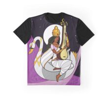 Saraswati - Goddess of Knowledge Graphic T-Shirt