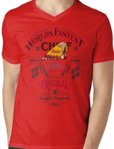 INDIAN Mens V-Neck T-Shirt