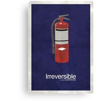 Irreversible - Minimalist Interpretation Canvas Print