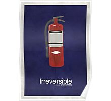Irreversible - Minimalist Interpretation Poster