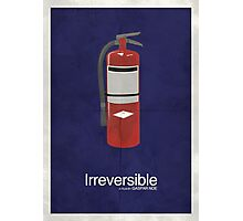 Irreversible - Minimalist Interpretation Photographic Print