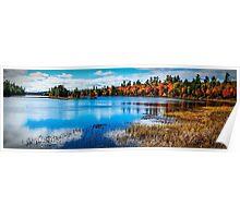 Harridge Lake Northern Ontario Poster