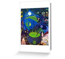 Dark Witch Greeting Card