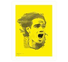 World Cup Edition - Radamel Falcao / Columbia Art Print