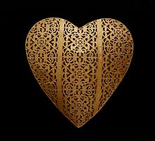 Golden Heart  by Fay Freshwater