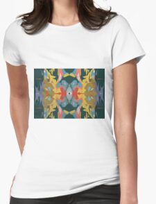 Wall (Eyed) Womens Fitted T-Shirt