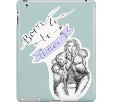 Born to be Wilde iPad Case/Skin