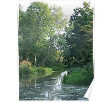 Traditional Beautiful English Countryside Poster